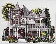 Click for more details of Grand Old Victorian (cross-stitch pattern) by Ginger & Spice