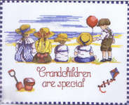 Click for more details of Grandchildren are Special (cross-stitch kit) by All Our Yesterdays