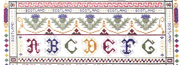 Click for more details of Great British Sampler (cross-stitch pattern) by Rosewood Manor