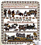 Click for more details of Great Plains Sampler (cross-stitch pattern) by Ginger & Spice