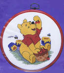 Click for more details of Greedy Pooh (cross-stitch kit) by Disney by Royal Paris