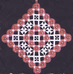Click for more details of Greek Cross Ornament III (hardanger) by A Stitch in Time