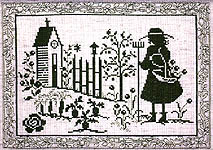 Click for more details of Green Garden (cross-stitch pattern) by Imaginating