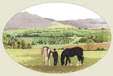 Click for more details of Green Pastures (cross-stitch pattern) by John Clayton