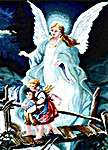 Click for more details of Guardian Angel (cross-stitch) by Kustom Krafts