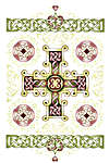 Click for more details of Guinevere`s Cross (cross-stitch) by Heaven and Earth Designs