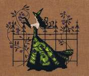Click for more details of Gwen (cross stitch) by Nora Corbett