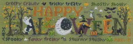 Click for more details of Halloween Happiness (cross-stitch) by Imaginating