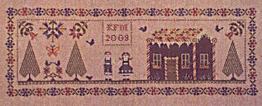 Click for more details of Hansel and Gretel (cross stitch) by Willow Hill Samplings