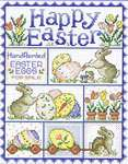 Click for more details of Happy Easter (cross-stitch pattern) by Sue Hillis Designs