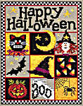 Click for more details of Happy Halloween (cross-stitch pattern) by Sue Hillis Designs