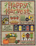 Click for more details of Happy Harvest (cross stitch) by Sue Hillis Designs