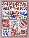 Click for more details of Happy Valentine's Day (cross-stitch) by Sue Hillis Designs