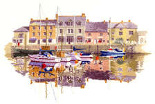 Click for more details of Harbour Reflections (cross stitch) by John Clayton