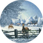 Click for more details of Hard Frost (cross-stitch pattern) by John Clayton