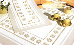 Click for more details of Hardanger 34 (hardanger pattern) by Rico Design
