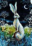 Click for more details of Hare by Night (cross stitch) by RTO