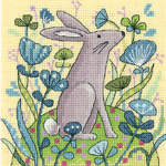 Click for more details of Hare (cross stitch) by Karen Carter