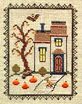 Click for more details of Haunted House (cross-stitch pattern) by Elizabeth Foster