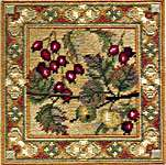 Click for more details of Hawthorn & Crab Apple (tapestry kit) by Rose Swalwell