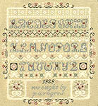 Click for more details of Hearts and Lace Sampler (cross stitch) by Pat Rogers