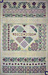 Click for more details of Hearts Entwined (cross-stitch pattern) by Northern Expressions Needlework