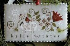Click for more details of Hello Winter (cross stitch) by Plum Street Samplers