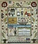 Click for more details of Heritage Sampler (cross stitch) by Plum Street Samplers