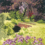 Click for more details of Hidden Bridge (cross-stitch kit) by John Clayton
