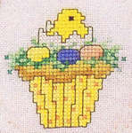 Click for more details of Hippity Hop (cross-stitch pattern) by Sue Hillis Designs