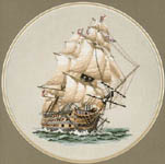 Click for more details of HMS Victory (cross stitch) by Dave Shaw