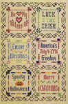Click for more details of Holiday Sampler (cross-stitch pattern) by The Sunflower Seed