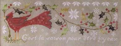 Click for more details of Home for the Holidays (cross stitch) by Blackbird Designs