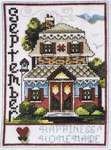 Click for more details of Home of the month - September (cross stitch) by Stoney Creek