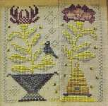 Click for more details of Honey Bee (cross stitch) by Blackbird Designs