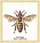 Click for more details of Honey Bee (cross-stitch) by Thea Gouverneur