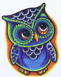 Click for more details of Hootie (cross-stitch pattern) by Northern Expressions Needlework