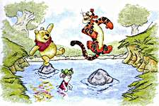 Click for more details of Hop, Skip and Jump (cross-stitch kit) by Disney by Anchor