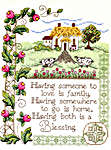 Click for more details of House Blessing (cross-stitch) by Imaginating