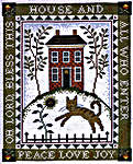 Click for more details of House Blessing II (cross stitch) by Imaginating