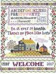 Click for more details of Humble Home Sampler (cross stitch) by Imaginating