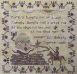 Click for more details of Humpty Dumpty (cross stitch) by Willow Hill Samplings