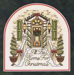 Click for more details of I'll be Home for Christmas (cross stitch) by Glendon Place