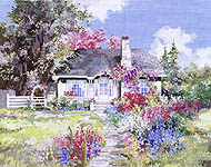 Click for more details of Idaho Hideaway (cross stitch) by Pegasus