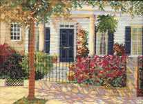 Click for more details of In Full Bloom (cross stitch) by Barbara & Cheryl