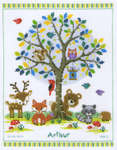 Click for more details of In the Woods (cross stitch) by Vervaco