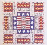 Click for more details of Independence Square (cross stitch) by Rosewood Manor
