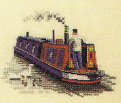 Click for more details of Inland Waterways (cross-stitch) by Dave Shaw