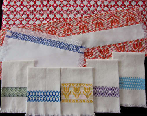 Click for more details of Inspiration 5 (swedish weaving pattern) by Swedish Weave Designs