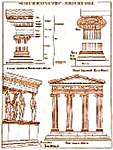 Click for more details of Ionic Columns (cross-stitch kit) by Thea Gouverneur